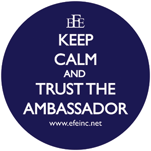 keep calm and trust the ambassador